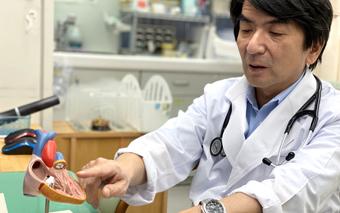 循環器疾患の専門医です